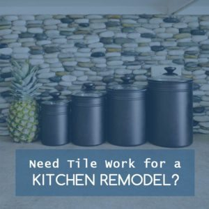 Title Work for a Kitchen Tile Remodel