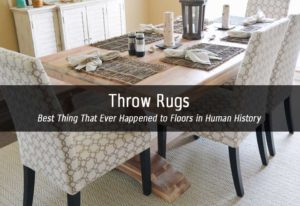 throw rugs