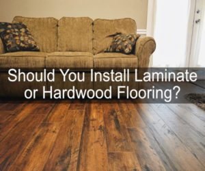 laminate or hardwood