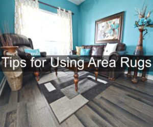tips for using area rug