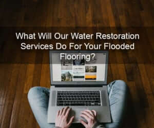 water restoration services