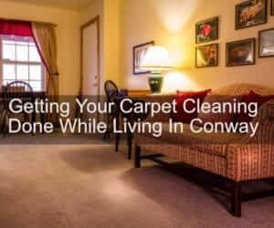 conway carpet cleaning